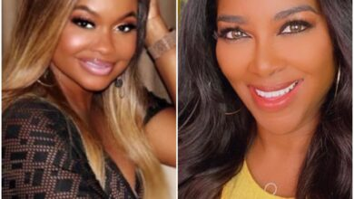 Photo of Phaedra Parks Uploads Old 'RHOA' Clip of Kenya Moore, Gets Response from Moore