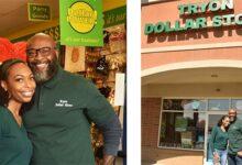Photo of Newlyweds Skip Honeymoon, Open New Dollar Store Instead
