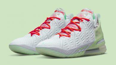 Photo of Diana Taurasi x Nike LeBron 18 PE CQ9283-401 Release Date