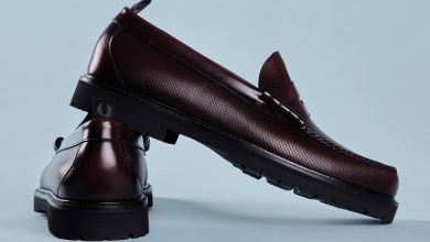 Photo of Fred Perry's New G.H. Bass Loafers Are Teddy Boy Perfection