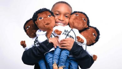 """Photo of 8-Year Old CEO Launches """"My Friend"""" Plush Line, Empowers Brown Boys Through Representation and Positive Affirmations"""