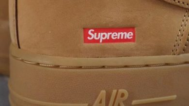 Photo of A Preview of the Supreme x Nike Air Force 1 Low Flax