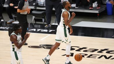 Photo of With or without Giannis Antetokounmpo, Khris Middleton has established himself as Bucks' closer