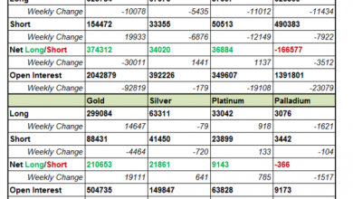 Photo of CFTC Commitments of Traders – Precious Metals Remained Firm while Crude Oil Rebounded after Sharp Fall