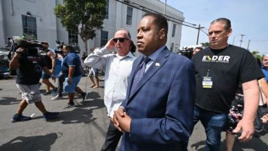 Photo of Larry Elder Egg Throw Video Goes Viral As Homeless Encampment Grows Angry