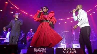 Photo of Fugees Launch Tour in NYC; Ms. Lauryn Hill Says, 'Respect The Miracle!'