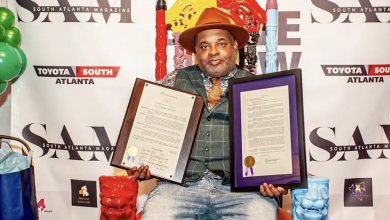 """Photo of Ian """"The Dream Weaver"""" Burke Receives Proclamations From the City of Atlanta and the State of Georigia for His Tremendous Contributions to the Entertainment Industry"""