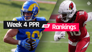 Photo of Fantasy WR PPR Rankings Week 4: Who to start, sit at wide receiver in fantasy football